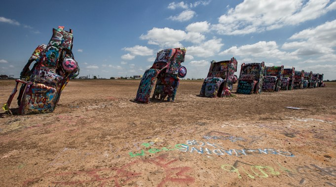 Cadillac Ranch Armarillo