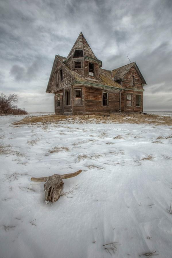 Witches house Dollard Saskatchewan abandoned