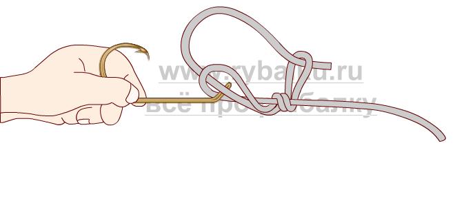 釣りノード - フックペンの写真4を結ぶ方法4