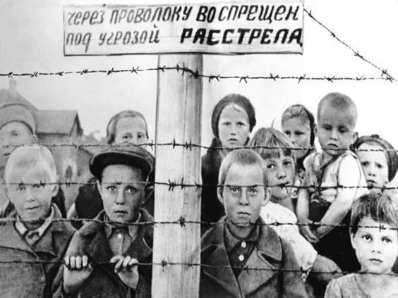 Дети войны 1941-1945 (фото) — Здоровье детей в наших руках