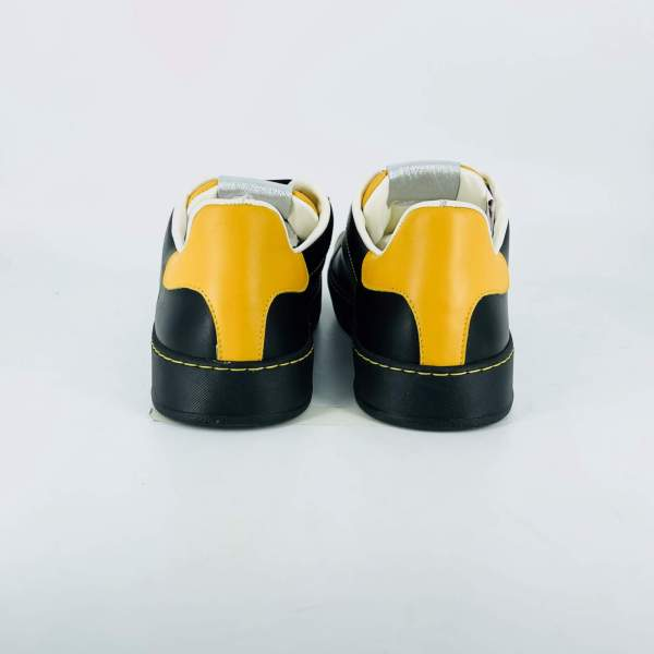 Full leather Black and yellow RYC & RICH-YCLED Handmade Shoes From Italy €179