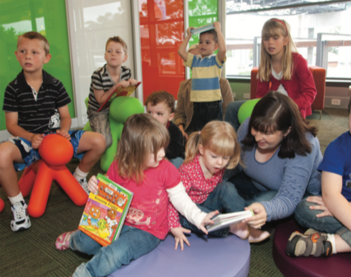 Library Story Time and Rhyme Time