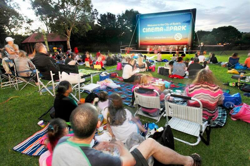 City of Ryde Outdoor Movie - Yamble Reserve, Ryde