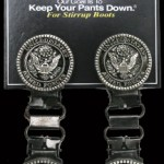 Stirrup clips armed forces laced
