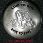 Live to ride ball