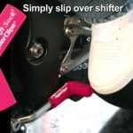 Pink rubber shift sock