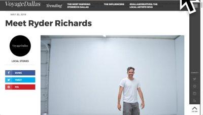 Ryder Richards interview on Voyage Dallas