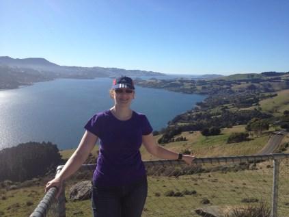 view from Dunedin Peninsula