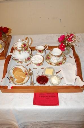 Grandmas tea tray winner!