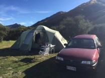 Last morning in camp