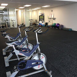 main workout area