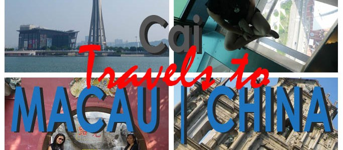 An Impromptu Trip with Colleagues Continued Across the Sea | Cai Travels to Macau, China