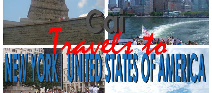 Work With Pleasure | Cai Travels to New York, U.S.A.