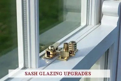 An image of a sash window containing double-glazed units.