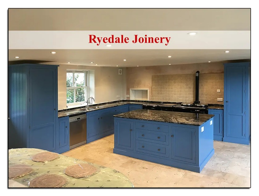 made-to-Measure kitchen in Accoya wood.