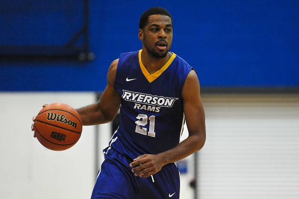 Peter-McNeilly named First-Team All-Canadian - Ryerson University