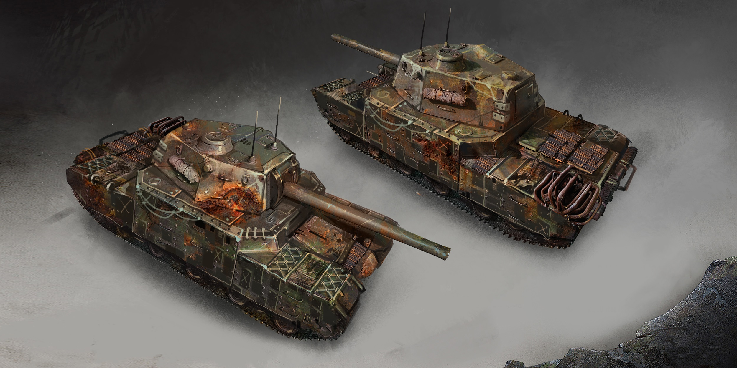 rust mod world  tanks video pictures  armored