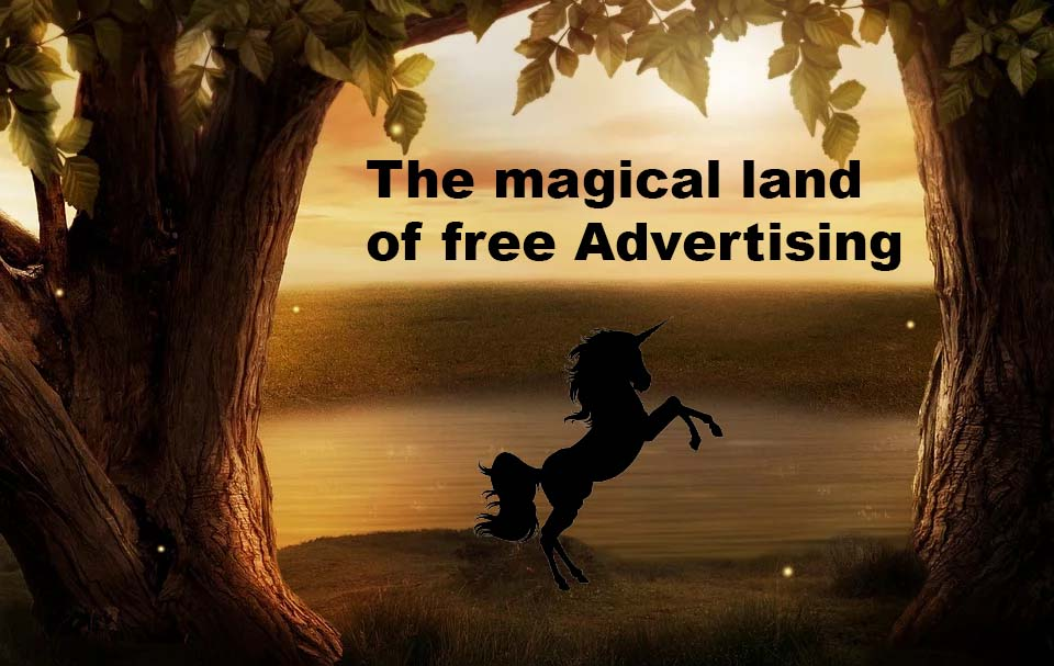 Advertising business for free