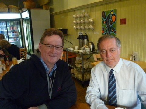 Professor Robert Webster and D Peter Nockles