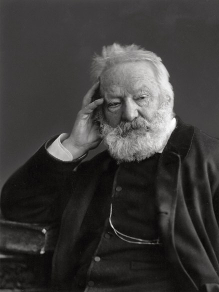 Victor Hugo, c.1884. Wikimedia Commons image.