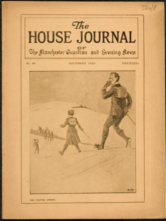 Christmas edition of the House Journal, no. 48, December 1925
