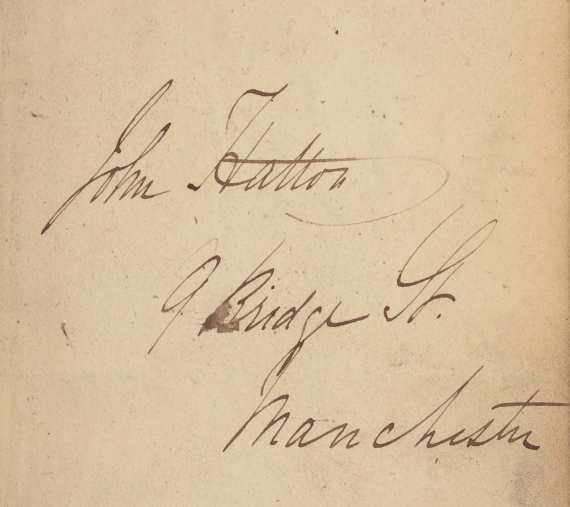 John Hatton signature