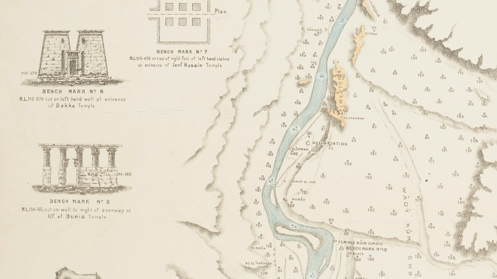 Plan of the Nile detail