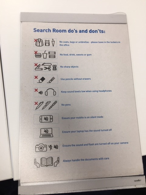 Search room dos and donts
