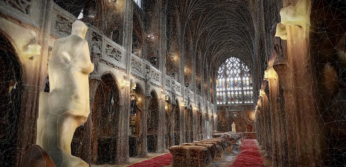 Photogrammetry of the Historic Reading Room