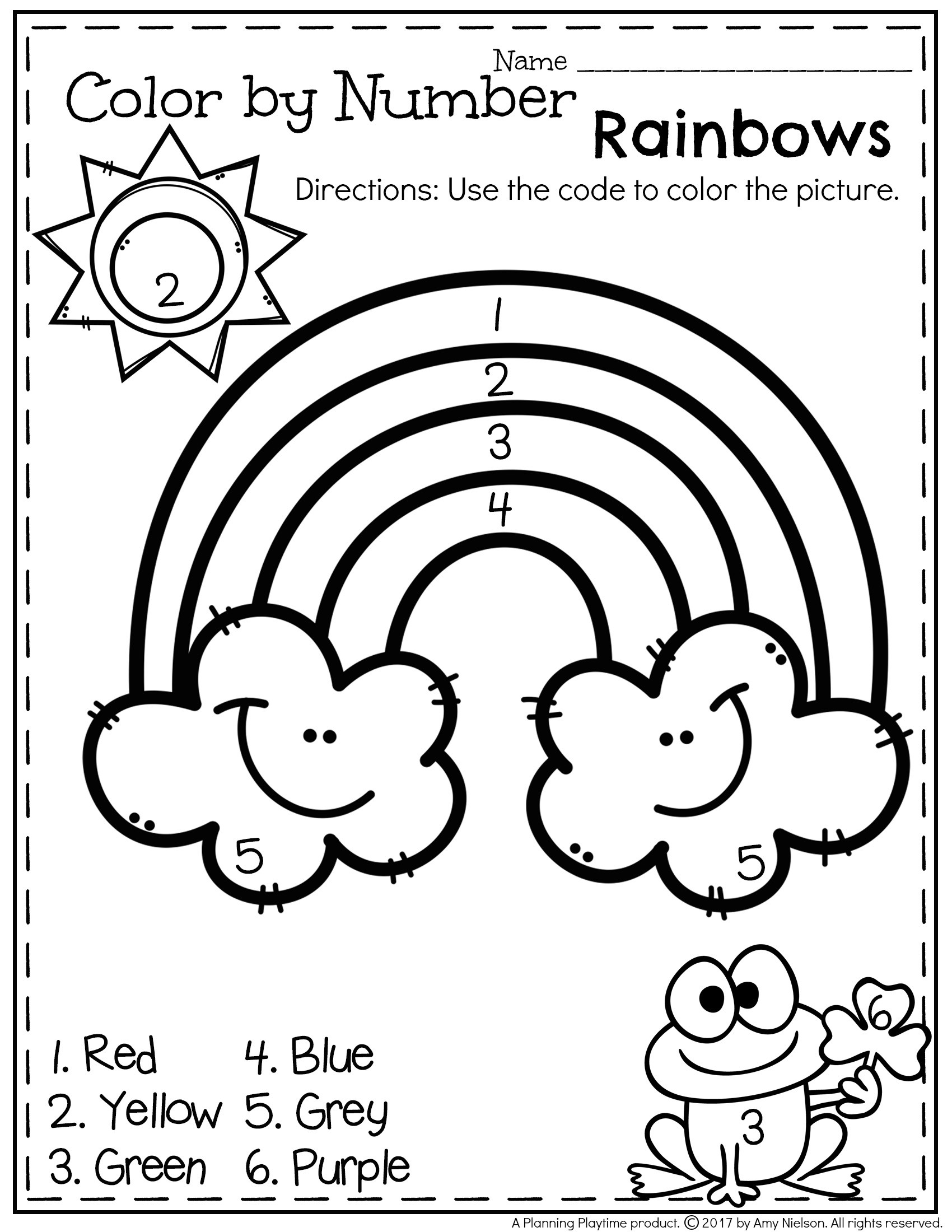 30 Preschool Number Review Worksheets