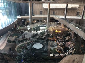 Picture of ICONSIAM water feature, new angle