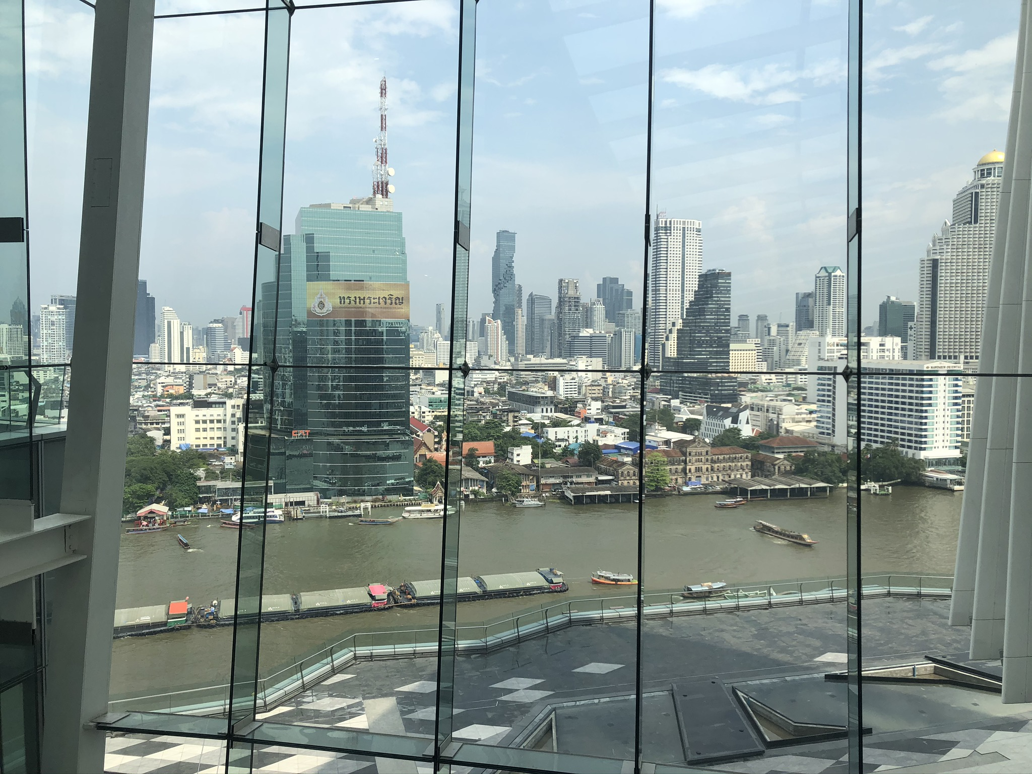Picture of Bangkok, view from ICONSIAM