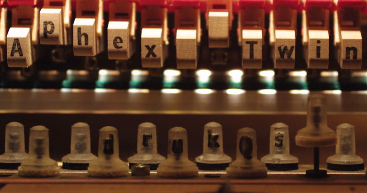 Aphex Twin album cover Drukqs