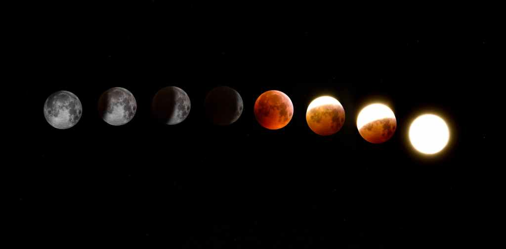 Image showing phases Of The Moon, representing science fiction and the nature of change