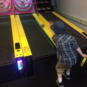 New at Skeeball