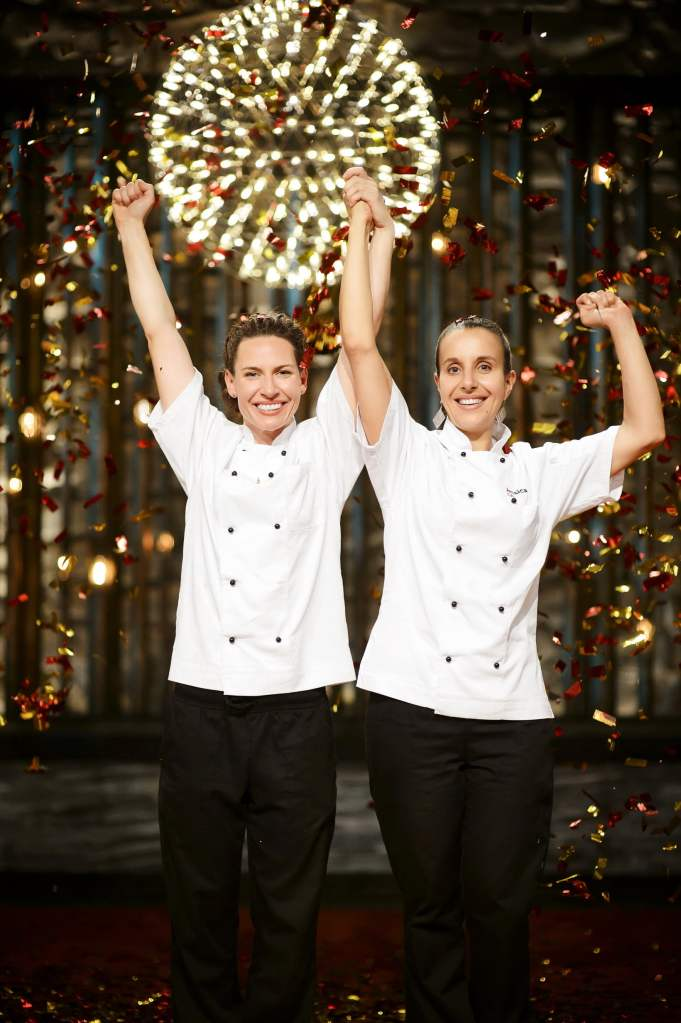 Bree and Jess Win My Kitchen Rules