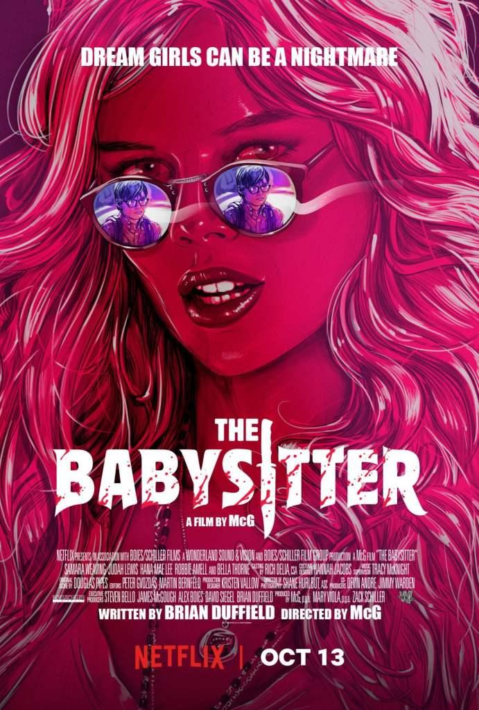 The Babysitter drops on Netflix tomorrrow