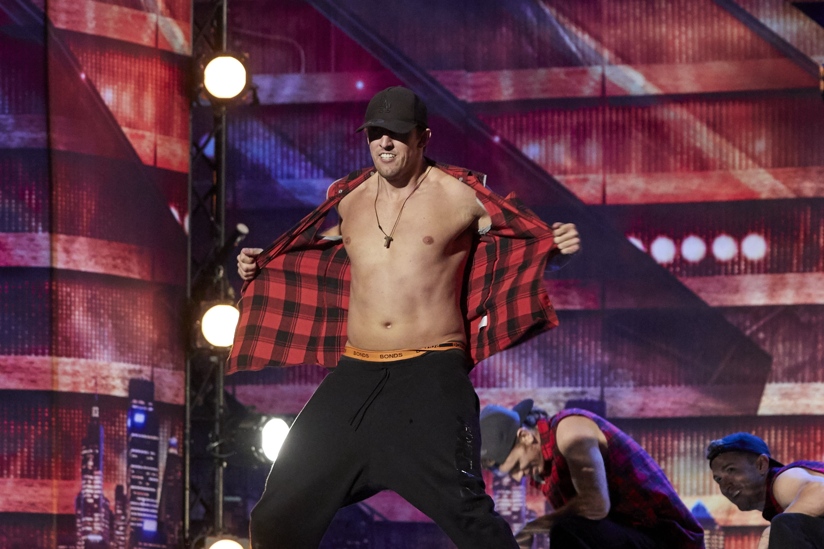 Australia's Got Talent auditions turn into Magic Mike