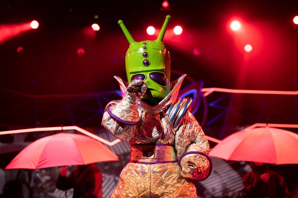 Iconic Australian Singer Revealed As The Alien On The Masked Singer