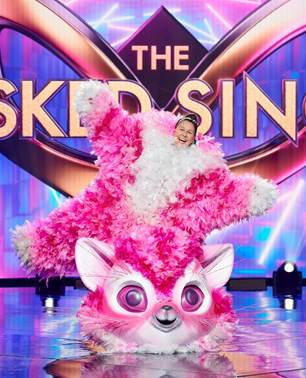Celebrated Comedic Pawformer Revealed As The Masked Singer Kitten.
