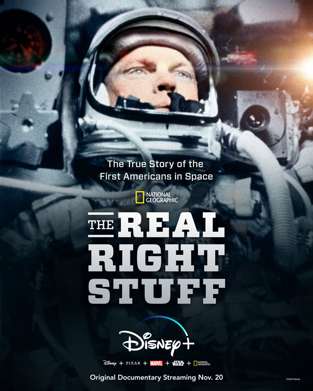 Disney+ To Premiere Documentary Special  'The Real Right Stuff in November