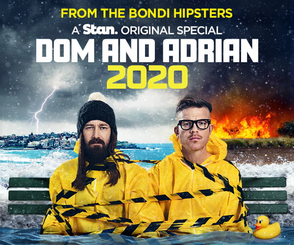 Dom and Adrian: 2020 gets December premiere date on Stan