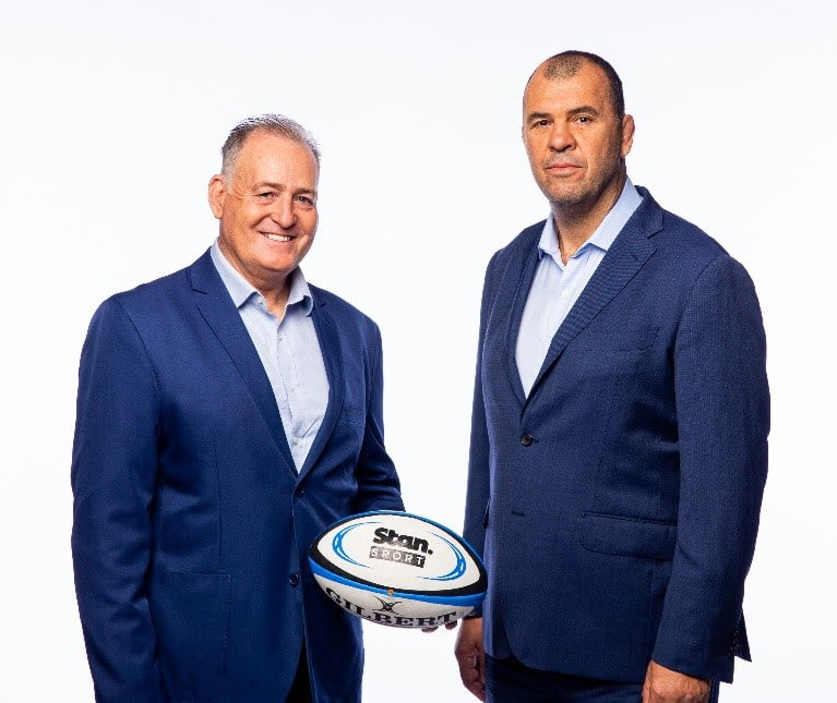 Stan Sport adds David Campese and Michael Cheika to Rugby commentary team.