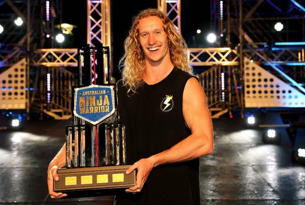 Zak Stolz wins Australian Ninja Warrior 2021