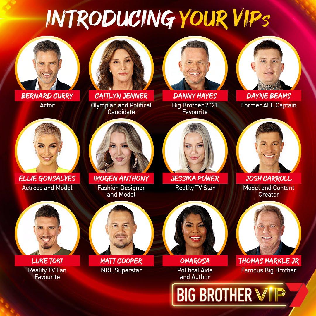 Seven confirms Big Brother VIP cast