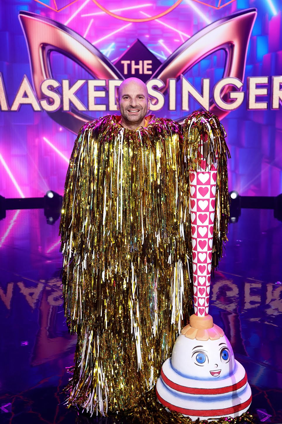 Another One Bites The Dust-er on The Masked Singer