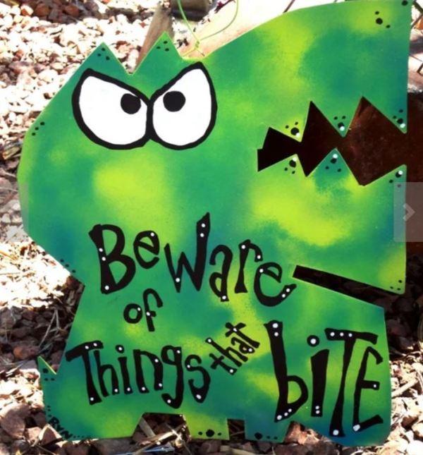 bite monster sign