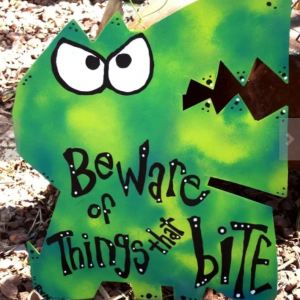 bite monster sign