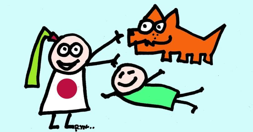 reiki basics in rynski cartoons