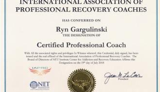 ryn gargulinski professional life coach certification